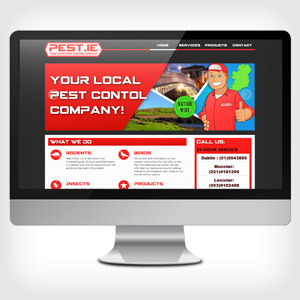 CVHelp.ie - Pest.ie Web Design and illustration- Wild Appeal