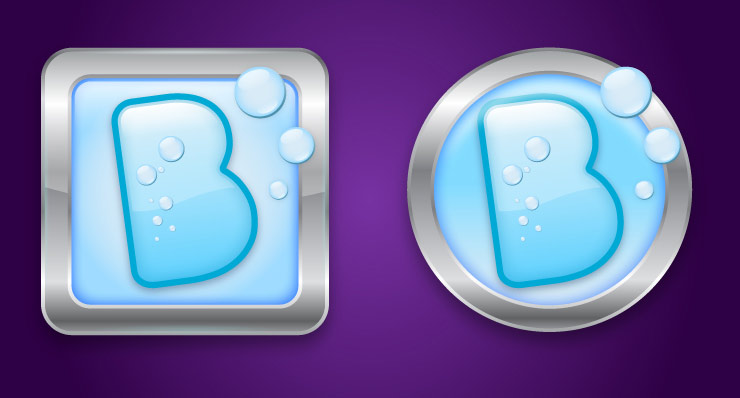 app icon design bubbles