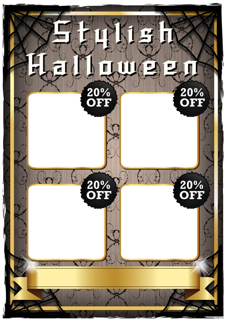 POS Halloween Poster Template Design | Wild Appeal wildappeal.com Irish graphic and web designers
