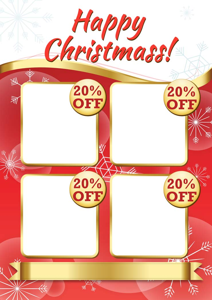 POS Christmas Poster Template Design | Wild Appeal wildappeal.com Irish graphic and web designers