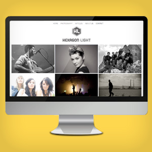 Hexagonlight photogprahy website - Wild Appeal